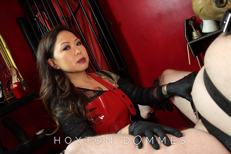 Madame Li Ying is a medical fetish play specialist dominatrix  in London